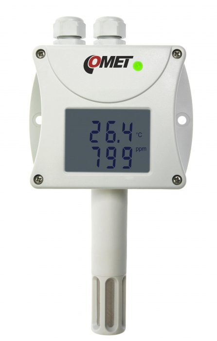 Temperature Humidity Co2 Transmitter With Rs485 Output
