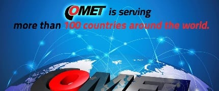 COMET is serving more than 100 countries around the world