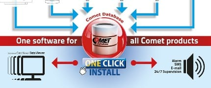 Comet Database - One Click Installation