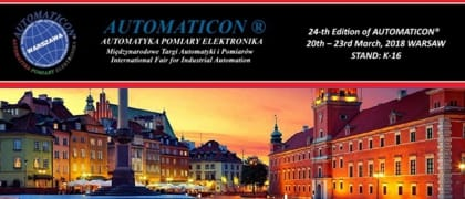 Come to visit COMET at Automaticon 2018 or in AMPER 2018
