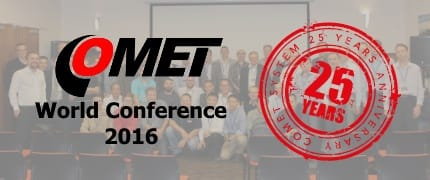 COMET World Conference 2016