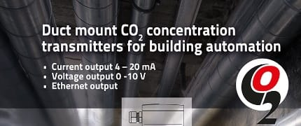 NEW CO2 Duct Mount Transmitter