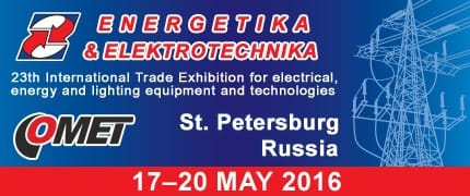 Visit us at Energetika and Elektrotechnika 2016 Exhibition