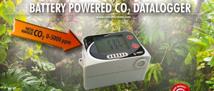 Battery powered CO2 dataloggers - better sensor for the same price