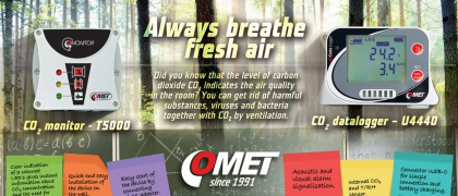 Prevention against respiratory diseases --- ventilation and CO2 measurement