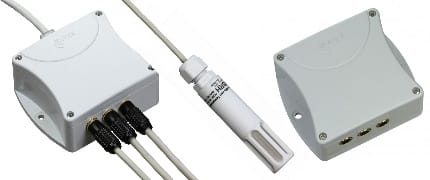 "Humidity-Temperature Probes for ""WebSensor"" Serie"