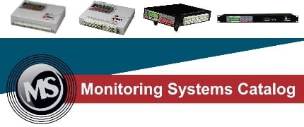 Monitoring Systems MS - CATALOG 2013