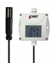 Industrial temperature, humidity, bar. pressure transmitter - RS485 output, cable 1 meter