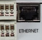 Ethernet communication port (internal) for MS6R, MS6D