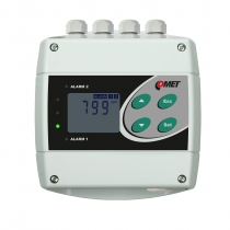 CO2 concentration transmitter with RS485 and two relay outputs