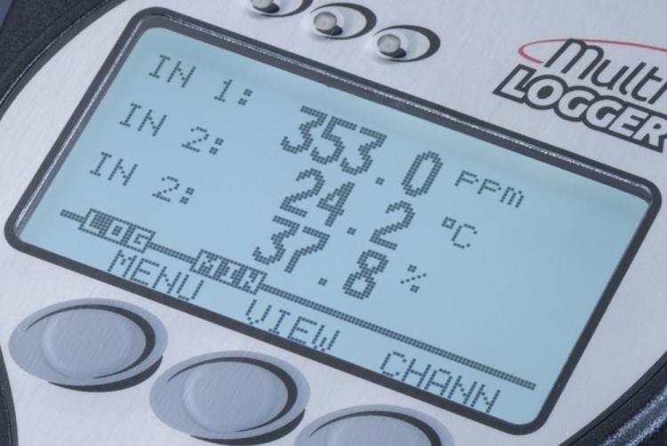 Multilogger - LCD detail