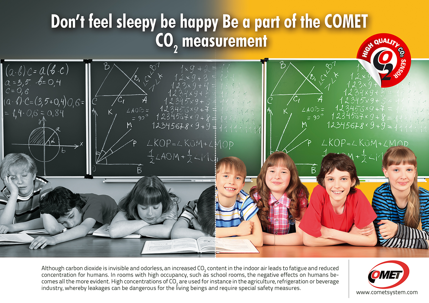 Be Fresh with COMET CO2 measuring